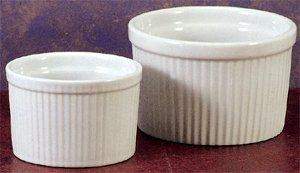 BIA Cordon Bleu Soufflé Dish - 12 oz - Deep - White