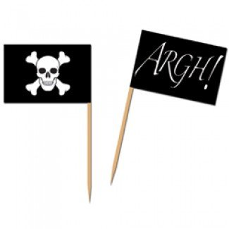 Piece Pirate Flag Tooth Picks product image
