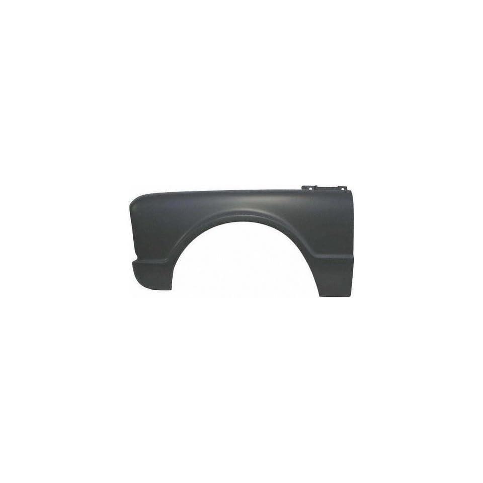 67 CHEVY CHEVROLET FULL SIZE PICKUP fullsize FENDER LH (DRIVER SIDE) TRUCK, W/O Side Marker & Emblem Holes (1967 67) C00220104 3898859