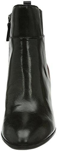 Tamaris 25923 - Botas Mujer Mehrfarbig (Black/Medoc 55)