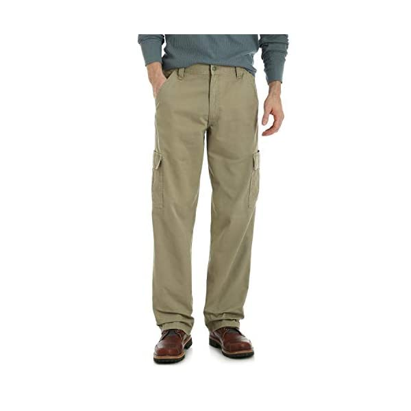 13a8c382d010dd Wrangler Authentics Men's Classic Twill Relaxed Fit Cargo Pant ...