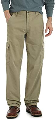 Wrangler Authentics Men's Big & Tall Classic Twill Relaxed Fit Ca