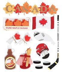 Jolee's Boutique Canada Destination Stickers