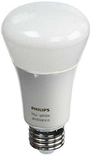 Philips Hue 2pk A19 White Ambiance LED Bulb