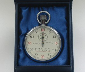 Harlan Hogan Stopwatch (Mechanical Stopwatch)