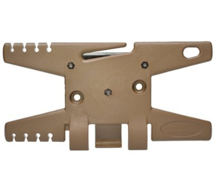 Paracord Spool Tool (Flat Dark Earth)- Holds up to 100' of Parachute (Parachute Tool)