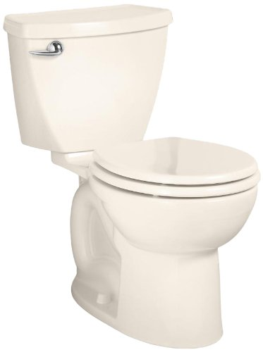 Efficiency Round Toilet Bowl - American Standard Cadet 3 Round Front Flowise Two-Piece High Efficiency Toilet with 12-Inch Rough-In, Linen Linen