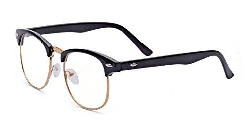 Kelens Nearsighted Myopia Glasses For Men & Women Clear Vision ()