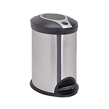 Bathla Contempo Stainless Steel Pedal Step Dustbin - Small (5 L) 8