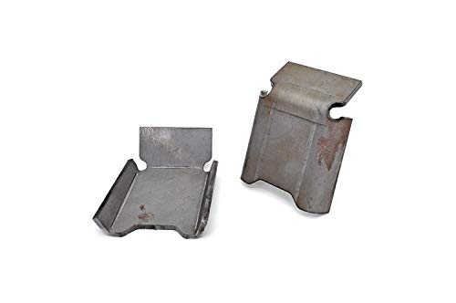Rough Country - 792 - Front Lower Control Arm Skid Plates (Pair) for Jeep: 07-18 Wrangler JK 4WD, 07-18 Wrangler Unlimited JK (Front Arm Plate)