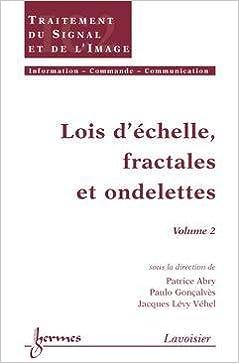 Téléchargement Lois d'échelle, fractales et ondelettes : Volume 2 pdf