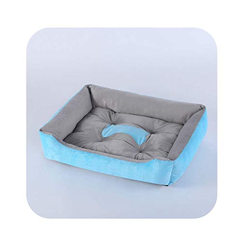 - Dog Bed for Small Medium Large Dogs Pet Dog House Warm Cotton Puppy Cat Beds for Golden Big Dog Bed,03,60X45X15Cm