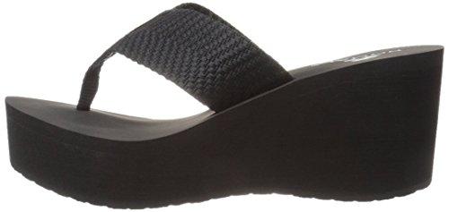 Pictures of Nomad Women's Tide Wedge Sandal Black 6 M US 5