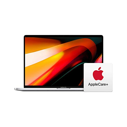 Apple MacBook Pro (16-Inch, 16GB RAM, 1TB Storage, 2.3GHz Intel Core i9) – Silver with AppleCare+ Bundle