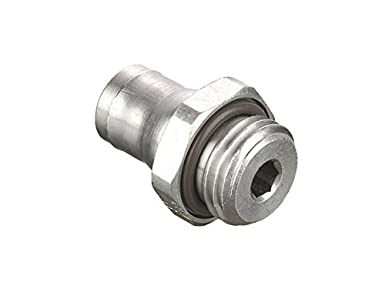 Nickel Plated Brass 4 mm and 1//8 4 mm and 1//8 Tube to Pipe Parker 68PLM-4M-2G Prestolok PLM Metal Push-to-Connect Fitting Push-to-Connect and Male BSPP Connector