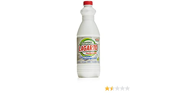 Amoniaco lagarto perfumado 1, 5 l.: Amazon.es: Alimentación y bebidas