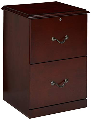 Cherry Real Wood - Z-Line Designs ZL9990-22VFU 2-Drawer Vertical File Cabinet, Cherry