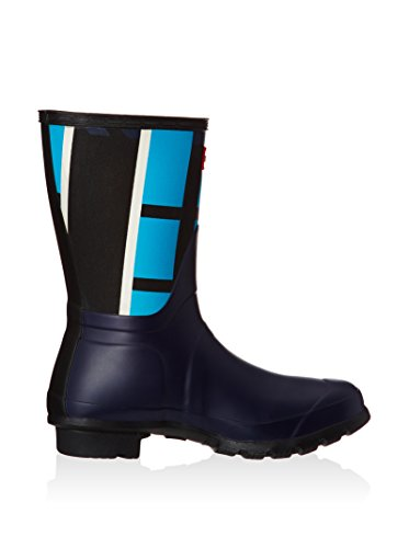 Hunter Botas de agua Wmn Org Short Tartan Azul Marino / Azul EU 38 (UK 5)