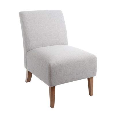 Magnificent Amazon Com Polyester Accent Chair With Wood Finish Accent Ncnpc Chair Design For Home Ncnpcorg