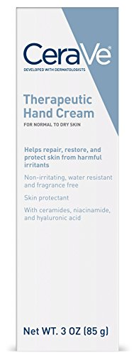CeraVe Therapeutic Hand Cream for Dry Cracked Hands | 3 Ounc