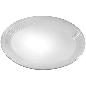 Fiesta 9-5/8-Inch Oval Platter, White