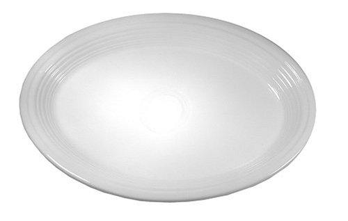 Fiesta 9-5/8-Inch Oval Platter, White ()