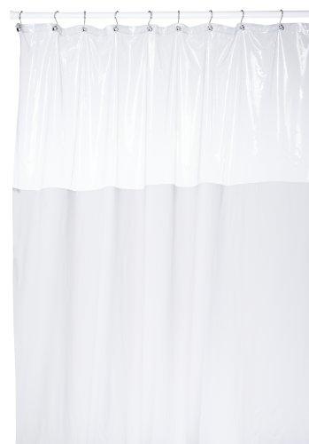 Carnation Home Fashions 72 by 84-Inch Vinyl Window Shower Cu