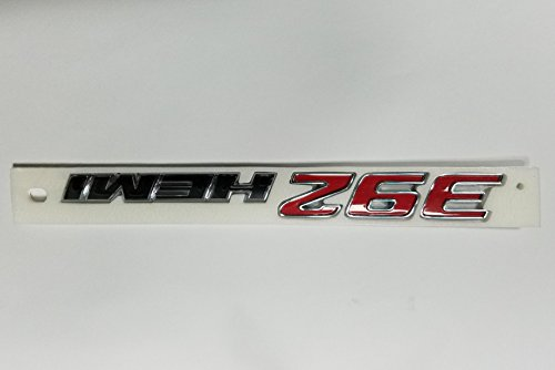 - NEW 2015 Dodge Challenger SHAKER 392 HEMI Hood Scoop Nameplate/Emblem,OEM Mopar