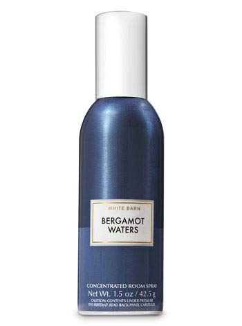 Bath and Body Works Bergamot Waters Concentrated Room Spray (2018 Edition) 1.5 Ounce