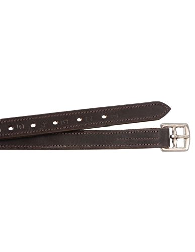 Nylon Lined Stirrup Leathers - EquiRoyal Nylon Lined Stirrup Leathers - Brown