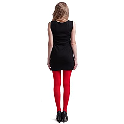 HDE Womens Tights – Opaque Tights for Women – Colorful Stockings for Girls at Women's Clothing store
