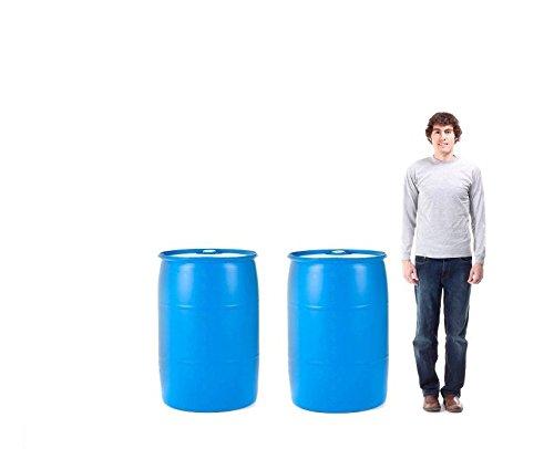 Emergency Essentials Water Barrel - 55 Gallon Drum, 2 Pieces