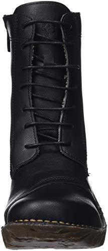 Combat Boots Naturalista Ng57t Vegan Black Black Women's El Black wXIxFpzFq