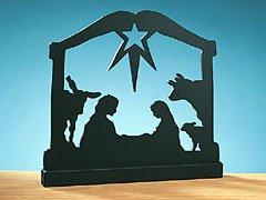 (Nativity Silhouette )
