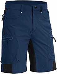 MAGNIVIT Men's Hiking Shorts Summer Quick Dry Ripstop Work Cargo Camping Shorts with 5 Poc
