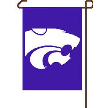NCAA Kansas State University WCR16089031 Garden Flag, 11