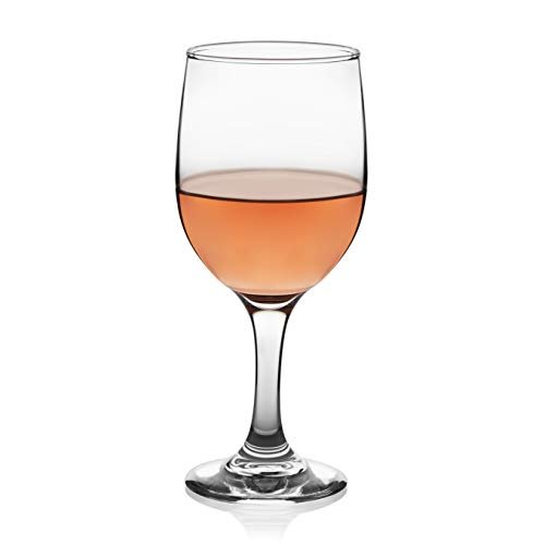 Libbey Claret White Wine Glasses, Set of 8