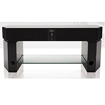 Evesham Sound Stage X1 Lcd Tv Plasma Tv Glass Stand With 2 Built