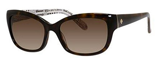 Kate Spade Women's Johanna Rectangular Sunglasses, Tortoise, 53 - Sunglasses Spade Amazon Kate