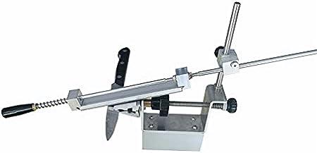 Cuchillo de cocina Sacapuntas de cuchillos rotativos Herramientas-K2 con 4 Whetstone 200 500 800 1500# (Color : As photo)
