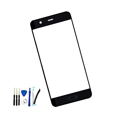 Front Screen Outer Glass top Panel Lens cover For Huawei P10 Standard Edition 5.1 inch VTR-AL00 VTR-L09 VTR-L29 VTR-TL00 black