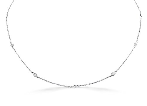 0.25 Ct Diamond Necklace - 7