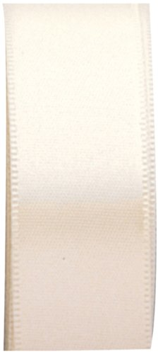 The Gift Wrap Company 7/8-Inch Luxury Satin Ribbon, Champagne (16039AMZ-40)