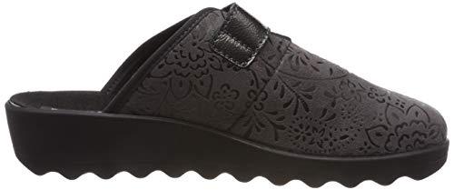 06 Gina Grigio Home Donna Romika 710 710 Pantofole grau HTqExwB