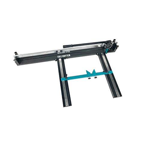 (Manual Tile Cutter Ceramic Porcelain Floor Wall Hand Tools Double rail (800mm #020390))