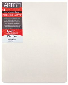 Fredrix Red Label Stretched Canvas