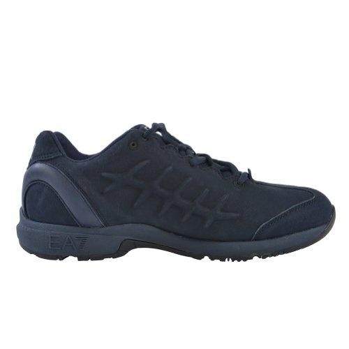 Emporio Armani EA7 Men's Blue Nubuck Athletic Sneakers US 10 EU 44