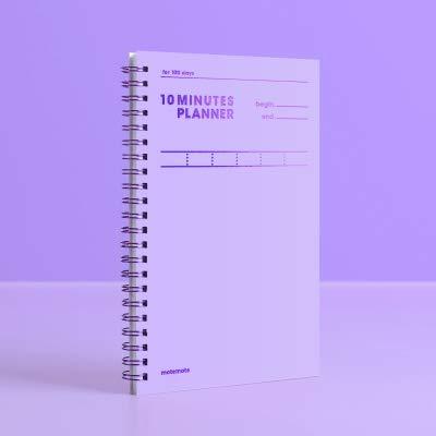 10 Minutes Planner 100 Days Color Chip (Violet) / Study Planner/Planner