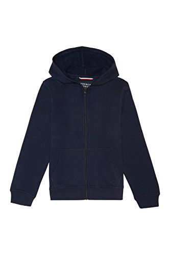 Toddler Jackets Shop - French Toast Little Boys' Toddler Fleece Hoodie, Navy, 2T