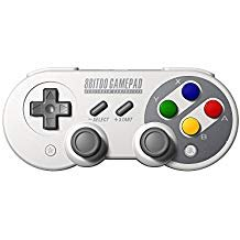 8Bitdo SF30 Pro Wireless Bluetooth Controller Gamepad Dual Classic Joystick for Windows, Mac OS, Android, Linux, Raspberry Pi, Steam, etc, Compatible with Nintendo Switch, with Extra Carrying Bag